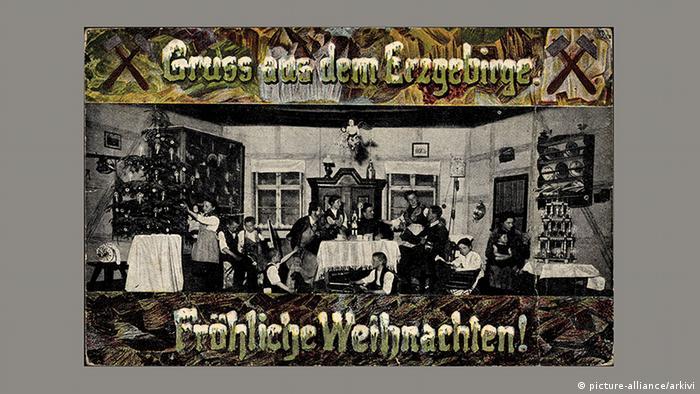 Рождественская почтовая открытка, 1924 год