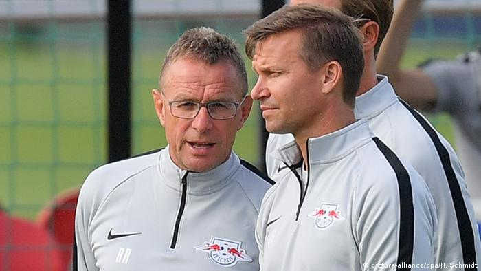 Ralf Rangnick and Jesse Marsch