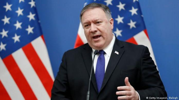 US-Außenminister Mike Pompeo (Getty Images/L. Balogh)