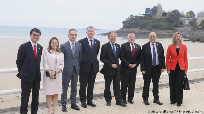 France G7 Foreign Ministers meeting in Dinard