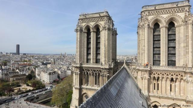 Cathedral Notre-Dame in Paris (picture-alliance/dpa/Y. Foreix )