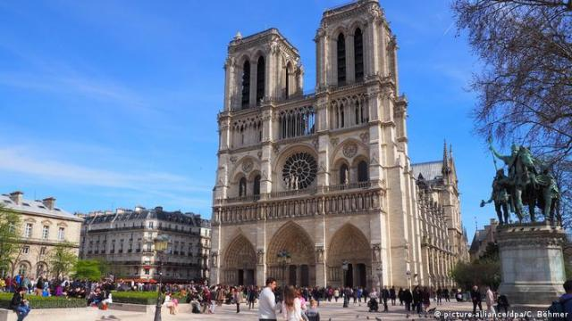 Cathedral Notre Dame in Paris (picture-alliance/dpa/C. Böhmer)