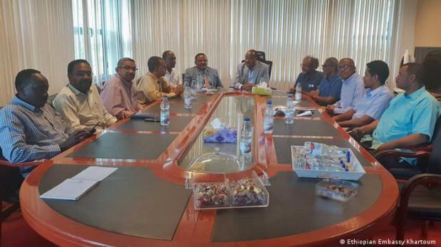 Sudan Khartoum Vermittlung von äthiopischen Botschafter Mohamoud Dirir (Ethiopian Embassy Khartoum )