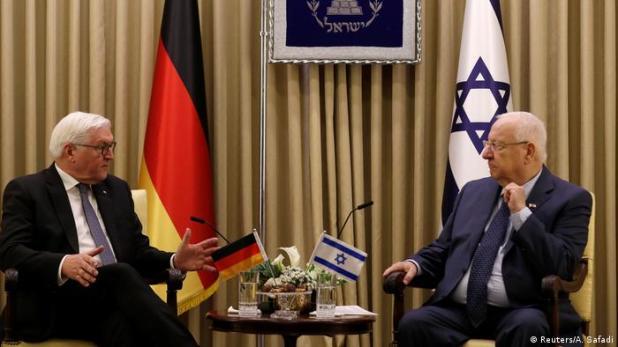 Israel Rivlin empfängt Steinmeier (Reuters/A. Safadi)
