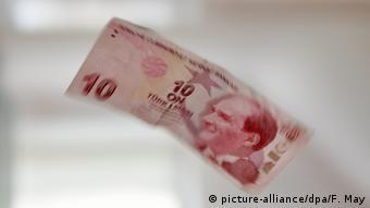 τουρκική λίρα, χαρτονόμισμα,
