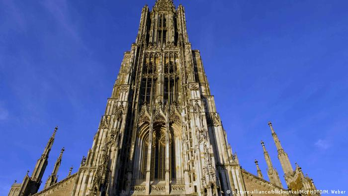Front view of Ulm Minster