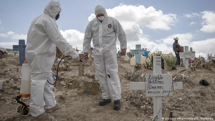COVID-19: México supera 20.000 contagios y se acerca a los 2.000 muertos    México en DW   DW   02.05.2020