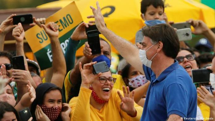 Brasilien | Jair Bolsonaro (Reuters / A. Machado)