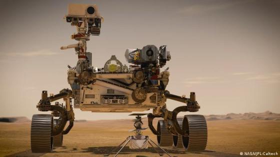 Helikopter Mars NASA AS (NASA / JPL-Caltech)