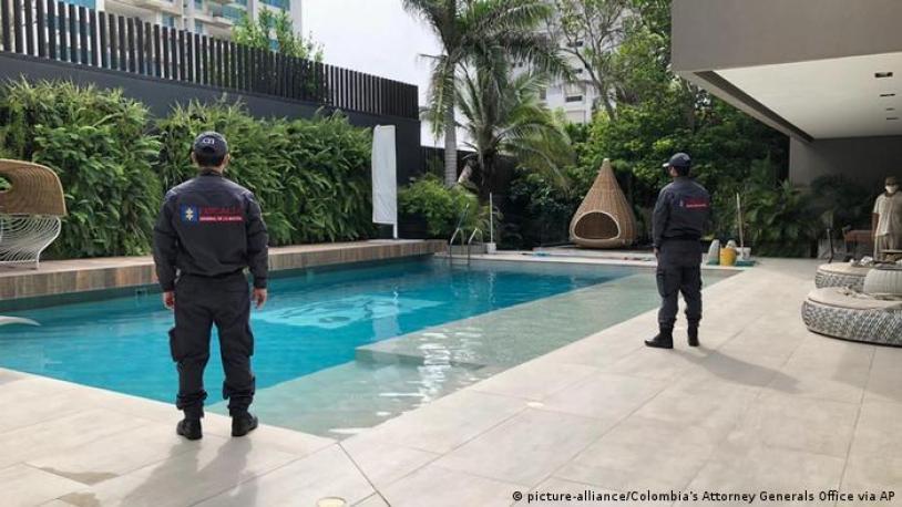 Residencia de Alex Saab en Barranquilla, confiscada por las autoridades colombianas.