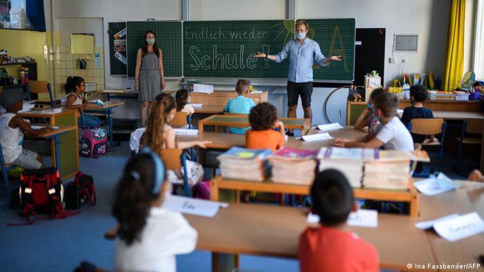 Deutschland   Klassenzimmer Coronakrise