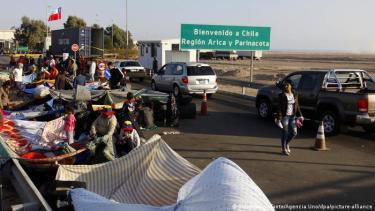 Los migrantes venezolanos son los más numerosos en Chile, seguidos de peruanos, haitianos y colombianos.