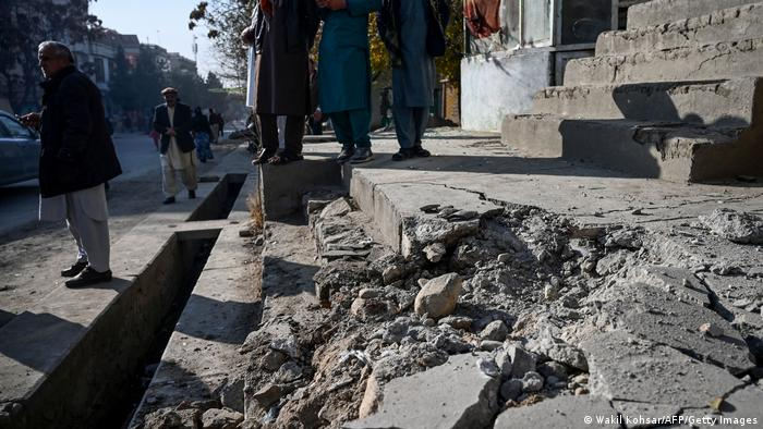 Afghanistan: Several dead as barrage of rockets hits Kabul | News | DW |  21.11.2020