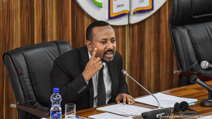 Ethiopian Prime Minister Abiy Ahmed