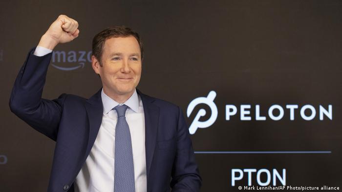 USA New York |  John Foley - CEO of Peloton