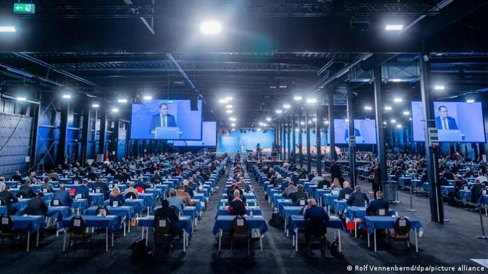Germany Federal party conference of the AfD in Kalkar |  Tino Chrupalla
