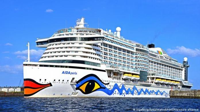 cruise sship Aida Perla