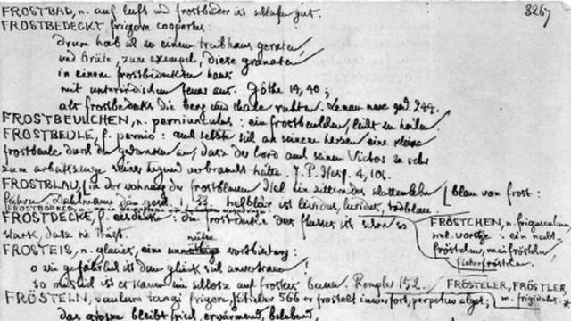 A handwritten page of a manuscript