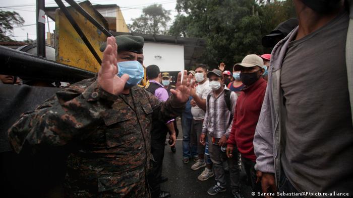 Guatemala, Honduras, migrantes