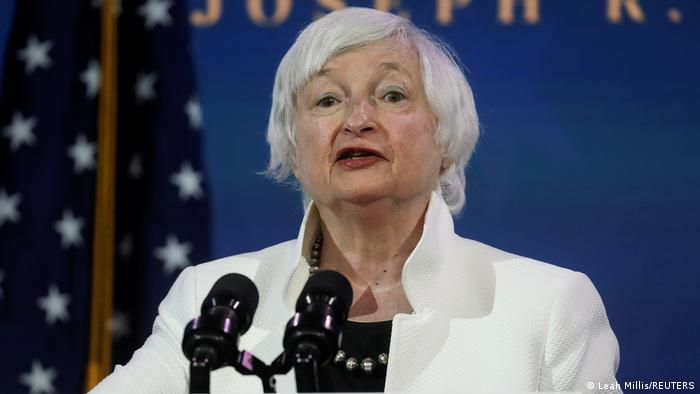 Janet Yellen, United States Minister of Finance.