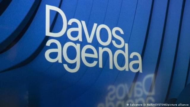 Logo of the 2021 Davos World Economic Forum