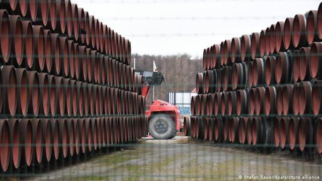 Pipe segments for Nord Stream 2