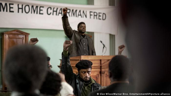 A scene from the film Judas and the Black Messiah.