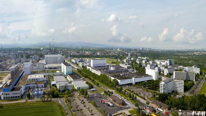 Sanofi plant in Frankfurt am Main
