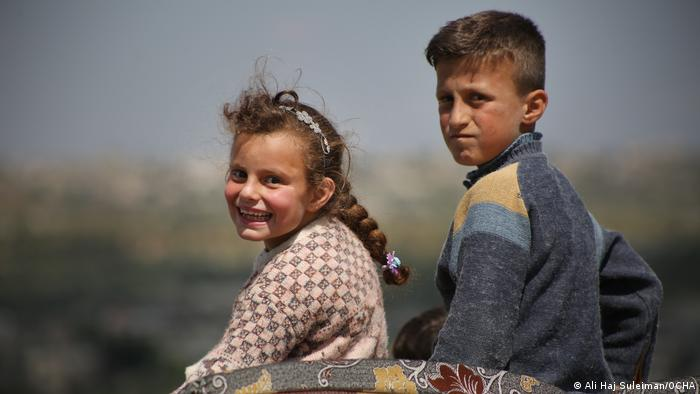Ali Haj Suleiman captures a family returning home after a ceasefire agreement in 2020