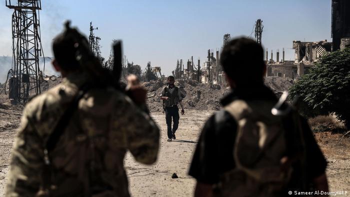Syrien | Kämpfer der Jaish al-Islam in Douma