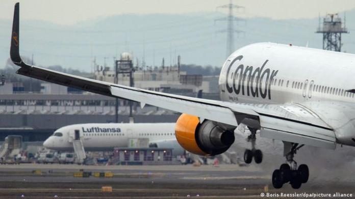 Deutschland Coronavirus - Flughafen Frankfurt