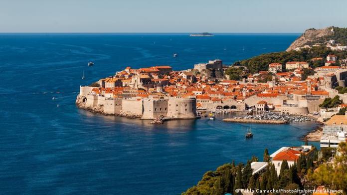 Kroatien Hafen Küste