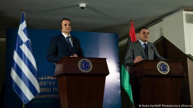 Mitsotakis, geçen hafta Trablus'ta Libya Başbakanı Abdülhamid Dibeybe ile görüşmüştü.