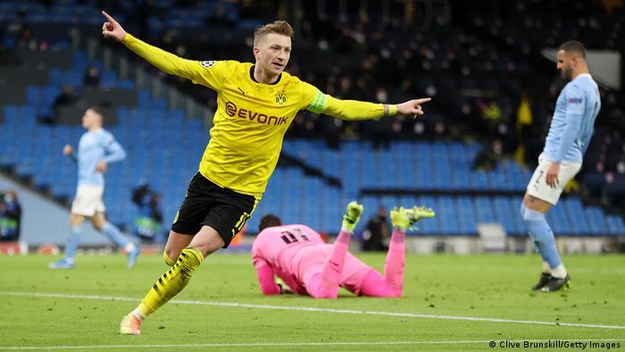 Champions League live: Borussia Dortmund vs. Manchester City — buildup |  Sports| German football and major international sports news | DW |  13.04.2021