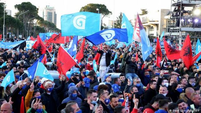 Albanien | Parlamentswahlen 2021 | Tableau 26.04.21