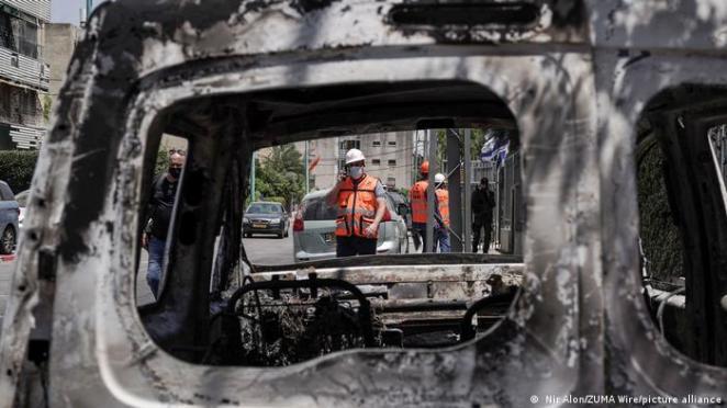 Lod kenti de şiddet olaylarına sahne oldu