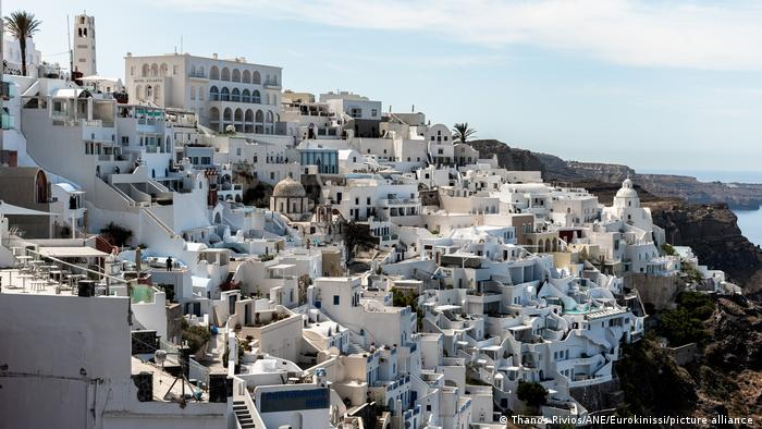 Santorini, one of the most visited Greek Islands