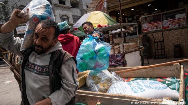 Israel Palästina | Straßenszene in Gaza City