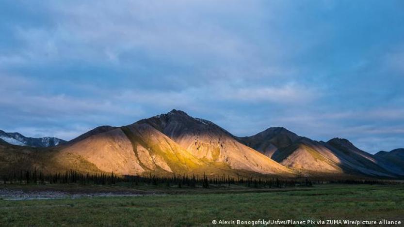 Refugio Nacional de Vida Silvestre del Ártico, en Alaska, EE. UU.