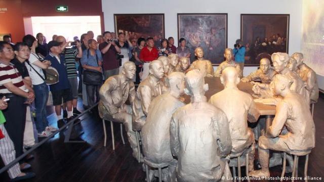 China Museum l Schanghai: Haus der Kommunistischen Partei Chinas, Besucher