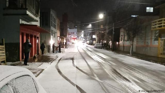 Brazil gets snow and ice, surprising residents | News | DW | 30.07.2021