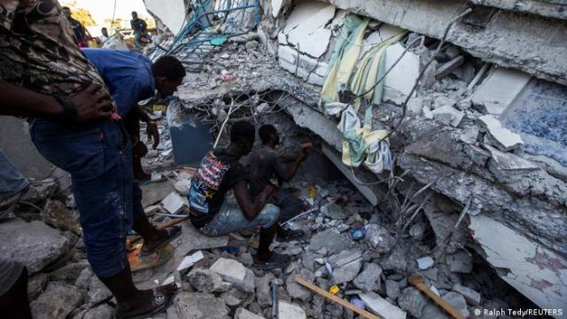 Haiti   Erdbeben auf Haiti   Zerstörung