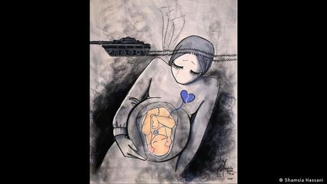 Obra de Shamsia Hassani