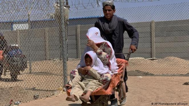 Pakistan Chaman | Grenzübergang von Afghanistan