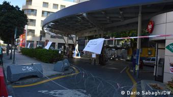 Libanon Beirut  Geschlossene Tankstelle