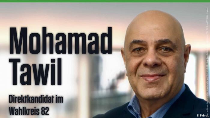 Candidate for the Bundestag, Mohamed Rafik Mustafa Tawil
