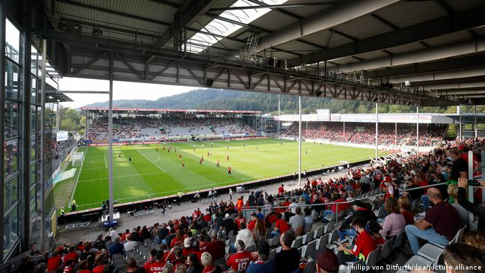 Freiburg's Dreisamstadion: one of Germany's most iconic football grounds