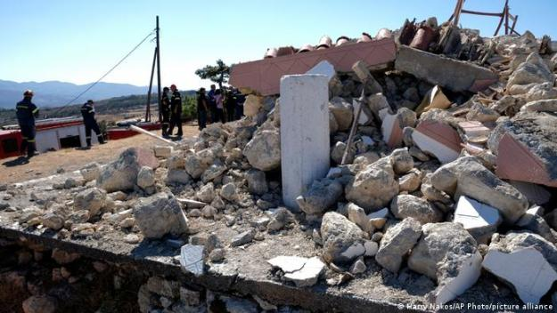 Terremoto de 5,8 en Creta, en septiembre de 2021.
