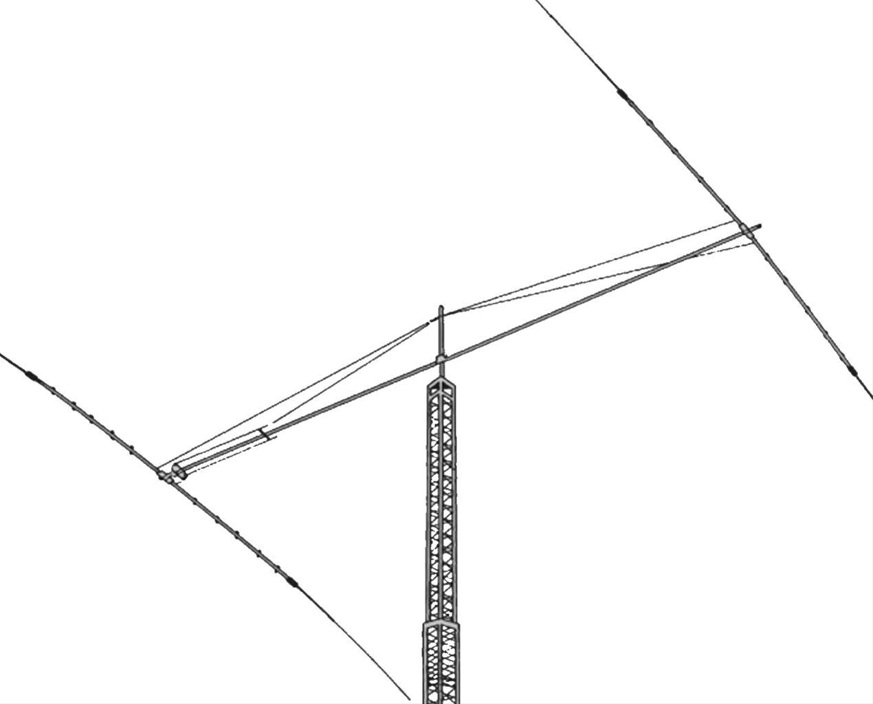 Hy Gain Discoverer 7 2 40 Meter Yagi Antennas Dis 72