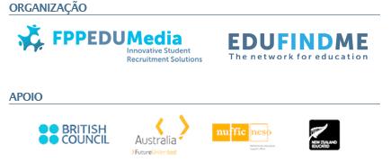 ORGANIZAÇÃO: FPPEDUMedia | APOIO: British Council, Study in Australia, Nuffic Neso, New Zealand Education
